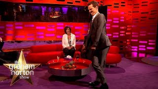Benedict Cumberbatch Walks Like Beyoncé | The Graham Norton Show