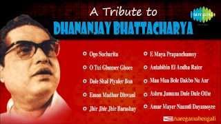 A Tribute to Dhananjay Bhattacharya | Ogo Sucharita | Bengali Songs Audio Jukebox