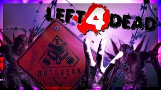 Left 4 Dead 3 Gameplay | Rainbow Six Siege: Mission Outbreak