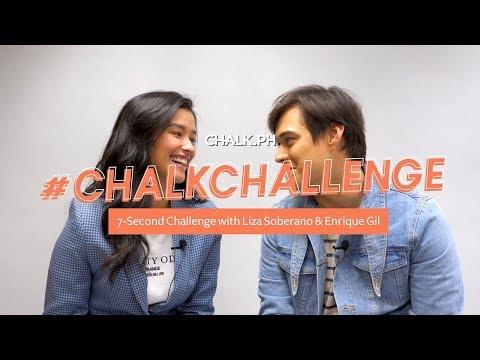 Xxx Mp4 ChalkChallenge 7 Second Challenge With Liza Soberano And Enrique Gil 3gp Sex