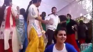 girls hostal dance party