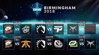 Optic Gaming VS Mineski (BO3)  - ESL Birmingham 2018, Group Stage Day 1