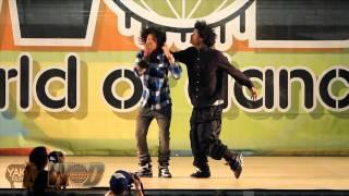 LES TWINS WORLD OF DANCE 2010 Vallejo WOD | YAK FILMS