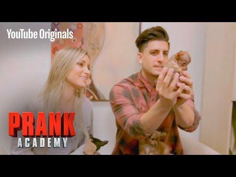 MULTIPLYING PUPPY PRANK!!!   Prank Academy   Episode 12