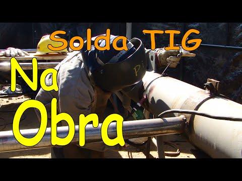 Passe de raíz Solda TIG Tubo SA 335 P11 .avi