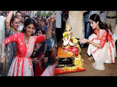 Xxx Mp4 Shilpa Shetty And Family Dancing Hard At Ganpati Visarjan 3gp Sex