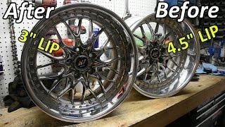 How to Relip 3 Piece Wheels - Nikita's Work Rezax II's