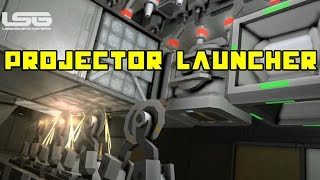Space Engineers - Projector Improvements & Rapid Missile Launcher