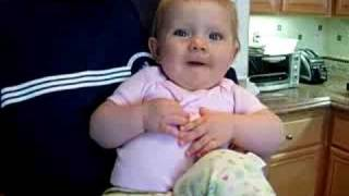 Victoria's funny Voice 'Baba' (June 2006 - age 10 month)