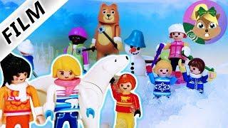 بلايموبيل فيلم | رحلة فصل جوليان الى مدينة الثلج | من يرمى كور الثلج ؟ سلسلة للأطفال أسرة الطيور