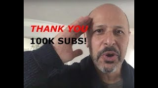 THANK YOU to 100,000 subscribers! 🎉 | Maz Jobrani