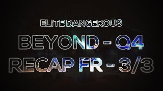 Elite Dangerous [FR] - Minage et Squadrons, du contenu explosif ! - 3/4 Saison 3 Q4 BEYOND