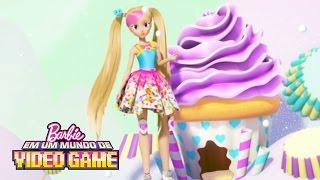 Bloopers e cenas adicionais    Barbie Em Um Mundo De Video Game   Barbie
