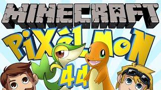 Minecraft Pixelmon (Pokemon Mod) #44 - Christening the House