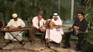 Playing traditional Arab music, Abu Dhabi