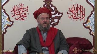 Şeyh Ahmed Yasin Bursevi Hz - 28.10.2016 - Cuma Sohbeti ve Hutbe