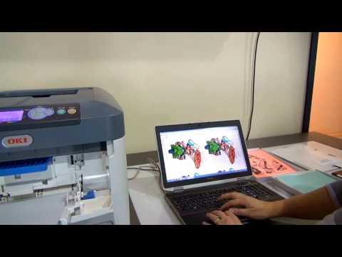 OKI Toner Printer & Forever Heat Transfer Paper Demo