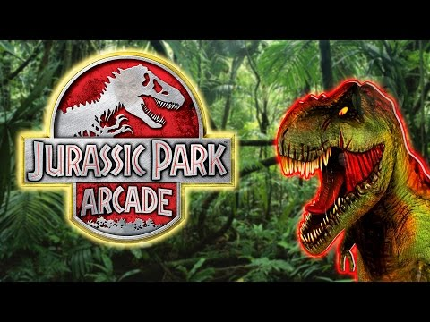 Jurassic Park Arcade Arcade Video Game