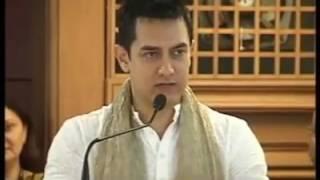 Amir Khan speech on education