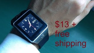 Smart Watch DZ09 review en español   BUYINCOINS