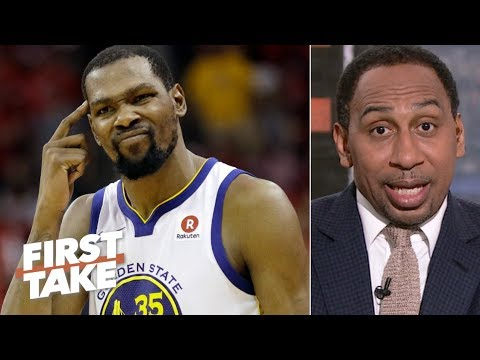Kevin Durant outranks James Harden as the NBA's most unstoppable player – Stephen A. First Take