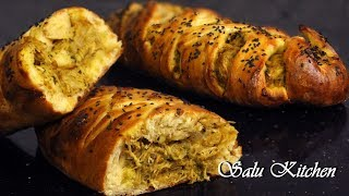 How To Make Chicken Filled Bread / Eid Special