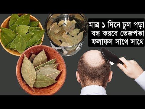 তেজপাতা মাত্র ১ দিনেই মাথার অতিরিক্ত চুল পড়া বন্ধ করবে | টাক মাথার সমাধান | hair loss tips bangla