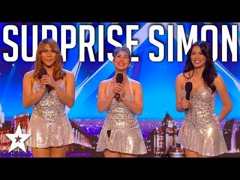 Xxx Mp4 Girl Group SURPRISE Simon Singing Sex Bomb On Britain S Got Talent Got Talent Global 3gp Sex