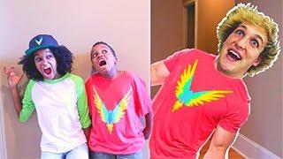LOGAN PAUL vs Shasha and Shiloh! - Onyx Kids