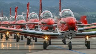 Patrouille Suisse and PC-7 TEAM Air14