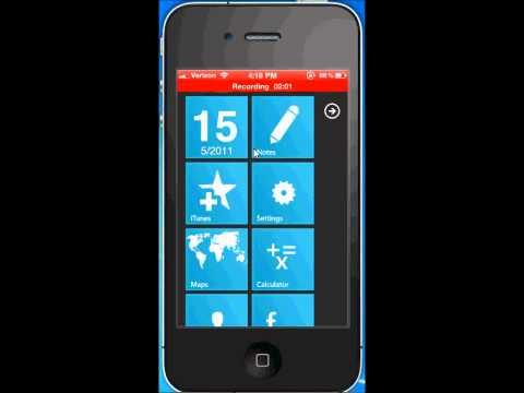 Windows Phone 7 Theme for iPhone 4 Dreamboard