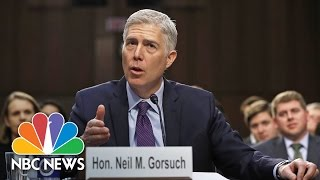 SCOTUS Nominee Neil Gorsuch Faces Day-Long Grilling From Senators | NBC News