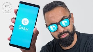 Bixby Voice on the Galaxy Note 8/S8