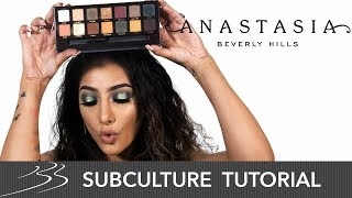 Anastasia Beverly Hills Subculture Palette Tutorial with AnchalMUA | Beauty Bay