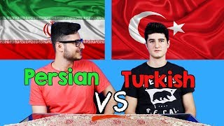 Language Challenge Turkish Vs Persian