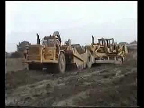 D9H dozing & 631C scraper