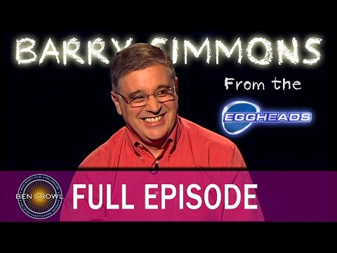 Who Wants to be a Millionaire Barry Simmons 5th February 2005