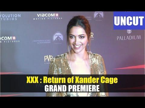 Deepika Padukone @ Grand Premiere of XXX Movie.