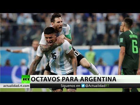 Xxx Mp4 Argentina Con Goles De Messi Y Rojo Gana A Nigeria Por Dos Tantos A Uno 3gp Sex