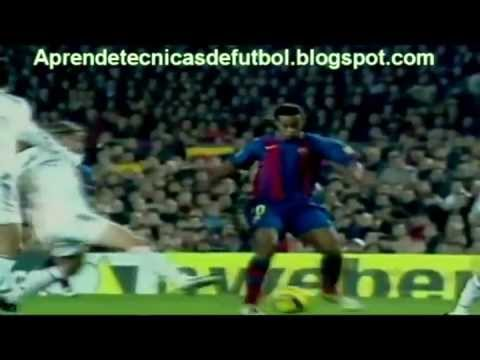 Ronaldinho humilla a messi