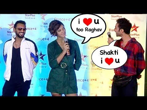 Raghav Juyal FLIRTING With Shakti Mohan At The Launch Of Dance Plus Returns 2018