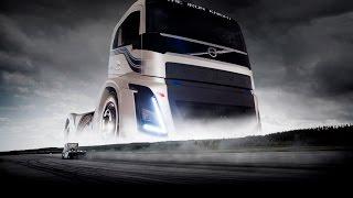 Volvo Trucks -The Iron Knight -The world's fastest truck