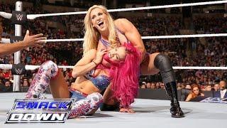 Sasha Banks vs. Charlotte: SmackDown, 24. März 2016