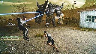 Final Fantasy 15 MULTIPLAYER Gameplay (Final Fantasy XV Comrades Expansion BETA)