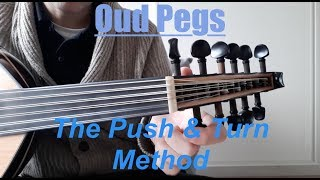 Oud pegs - How to Prevent Slipping Pegs