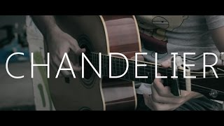 Chandelier - Sia (fingerstyle guitar cover by Peter Gergely)