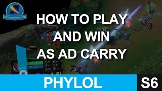 How to play and win as an AD CARRY - Everything I do in a game to win