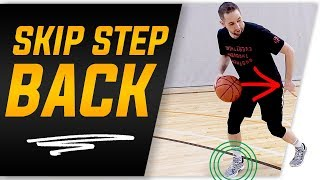 How To: James Harden Skip Step Back Move | Basketball Moves to Create Space