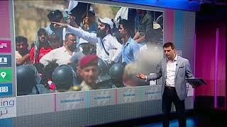 بي_بي_سي_ترندينغ   تواصل احتجاجات #العراق وتفاعل تحت هاشتاغ #ثورة_الجياع