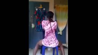 Nigeria collage girl Twerks Song Wande Coal